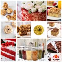 La Kreiva Cookie Crumble Crumb Topping Donat repack 250 gram
