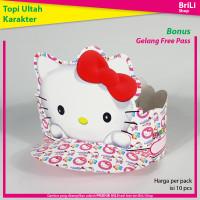Topi Ulang Tahun Anak Karakter Hello Kitty Pesta Ultah Hellokitty