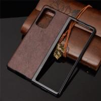 Case Samsung Galaxy Z Fold 2 Case Premium Leather Case Hardcase