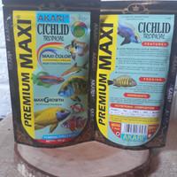 Akari Premium Maxi Cichild Tropical 100gr Makanan IKAN PELET IKAN