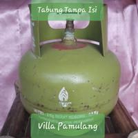 Tabung Gas LPG/Elpiji/Melon 3kg - Tanpa Isi