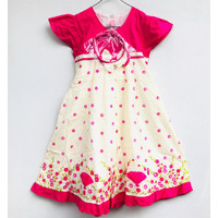 Dress Anak Perempuan Angela Kids Size 30 8-9 Tahun + Bando