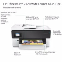 Printer HP Officejet 7720 (A3 Print, Scan, Copy, Fax)