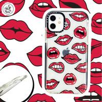 Casetify Lips HQ Case Iphone 6 6+ 7 7+ 8 8+ X XS MAX XR 11 PRO MAX