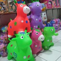 animal kuda karet jumping hewan kuda kudaan tunggang