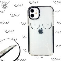 Casetify Simple Tits Case Iphone 6 6+ 7 7+ 8 8+ X XS MAX XR 11 PRO MAX