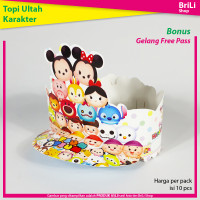 Topi Ulang Tahun Anak Karakter Tsum Tsum Pesta Ultah