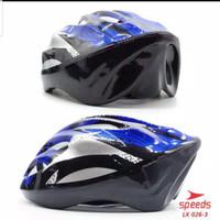 Helm Sepeda Inline Skate Dewasa MTB Gunung Lipat PVC Foam Speeds 026-3