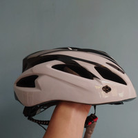 TaffSPORT Helm Sepeda Bicycle Road Bike Helmet EPS Foam PVC