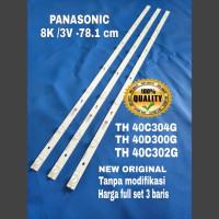 LAMPU BACKLIGHT TV PANASONIC TH 40C304G TH 40D302G LED BACKLIGHT TV