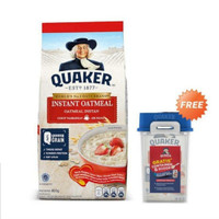 Quaker Instant Oatmeal 800 gr Free Sendok & Container