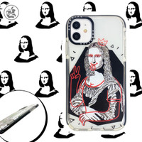 Casetify Monalisa Case Iphone 6 6+ 7 7+ 8 8+ X XS MAX XR 11 PRO MAX