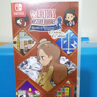 Nintendo Switch Games - Layton's Mystery Journey Katrielle Deluxe