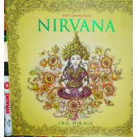 Bali Coloring Book Art Therapy anti stress mewarnai Nirvana