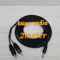 kabel audio canare ukuran besar jack mini stereo 3.5mm to rca R/L(2m)
