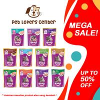 Makanan Kucing Basah Whiskas Pouch Junior Anakan - Adult Dewasa 85GR - Chicken Tuna