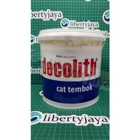 5kg Decolith Cat Tembok Super White WARNA AGUNG