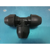 Fitting HDPE Tee Compress ukuran 32mm x 32mm x 32mm (1inch)
