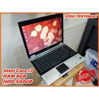 *SPEK TINGGI* Laptop HP Core i7 / RAM 8GB / 500GB, Laptop bekas