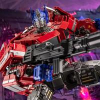 Mainan mobil mech BmB transformers commander prime - optimus prime