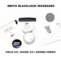 POMADE SMITH BLACK JACK BLACKJACK WAXBASED FREE SISIR STICKER & POUCH