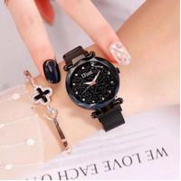 Ready Lagi black Warna Jam Tangan Wanita Dior Magnet Mata D795