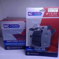 Honda PCX 2018 Discpad Diskpad Kampas Rem Cakram Belakang