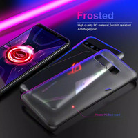 Asus Rog Phone 3 Frosted Matte Case Casing ROG PHONE 3 Hard Case Clear