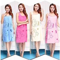 Magic BATH TOWEL Handuk kimono Baju Mandi dress Korea mode
