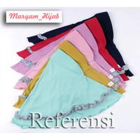 Jilbab Anak/balita 10 All Size 1-5 Tahun/Jersey Balon