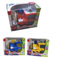 Mainan Kereta Thomas Light Train 3D Suara Lampu