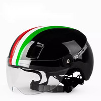 CoolChange DDC Urban Fashion Bicycle Helmet - Helm Sepeda Commuter - Color Line