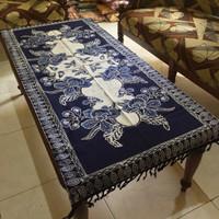 Taplak meja tamu panjang motif batik cap remekan