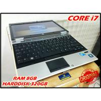 MURAH, Laptop HP Core i7 RAM 8GB, Laptop Bekas i7 8GB 320GB ORIGINAL
