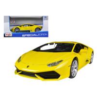Diecast maisto 1/24 Lamborghini Huracan LP 610-4 Kuning