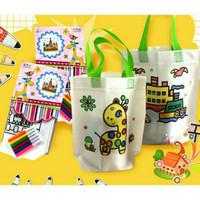 Souvenir ulang tahun anak / tas mewarnai / DIY mainan edukasi anak