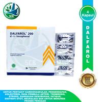DALFAROL 200 IU - STRIP 4 KAPSUL