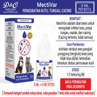 Mectivar Obat Tetes Kutu Tungau Caplak Cacing Kucing Anjing Ampuh