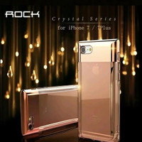 ROCK CRYSTAL PERFUME IPHONE 7 CASE - COVER - CASING - Hitam
