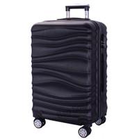 Real Polo Tas Koper Kabin Hardcase Fiber ABS-4 Roda Putar-EJCG Size 20