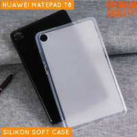 Huawei MatePad T8 Tablet Tab Softcase Soft Case Casing Kondom Silicone - Clear