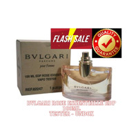 parfum bvlgari rose essentialle 100ml original tester