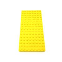 Lego Plate 16 x 8 x 2 Yellow RARE Original