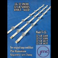 LED Backlight Tv LG 32LB550A lampu LED Backlight LG32LF550A