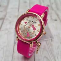 Promo jam tangan anak/remaja/dewasa wanita analog strap rubber
