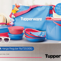 Tupperware Bekal Piknik Set Promo