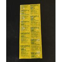 Hevit C 500 mg 1 lembar isi 10