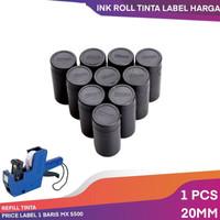 COD Tinta Label Isi ulang Price Tag Label Harga Joyko mx5500 20mm