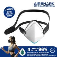 Masker Olahraga / Sepeda Airshark Original Garansi 6Bln