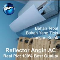 Penahan Pengarah Papan Penghambat Plastik Acrylic Panel Cover Angin AC